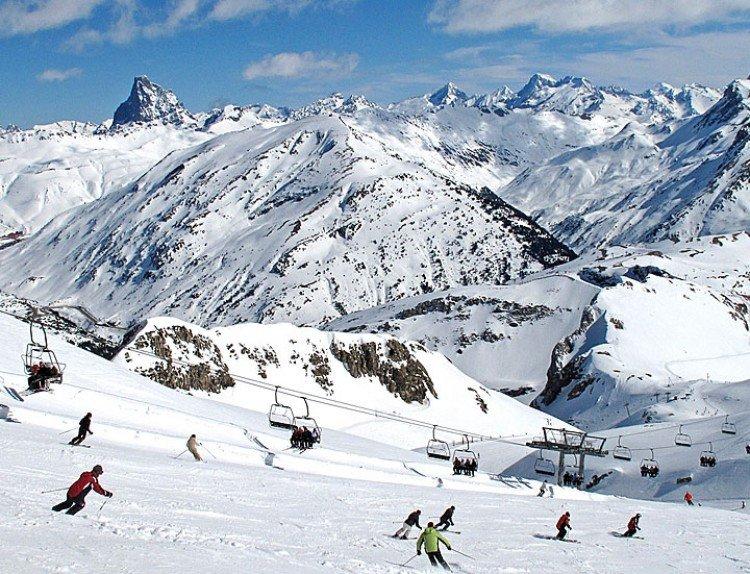 Alpinski in Candanchu