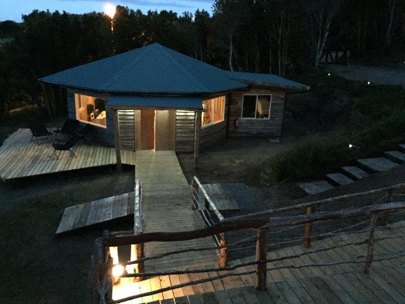 Huillín Lodge (6), casa vacanza a Isla Chiloe