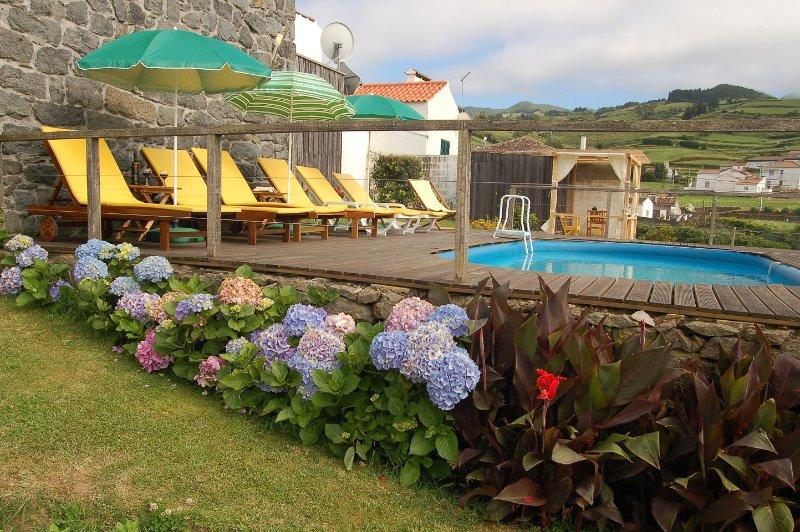 Casa do Tanque: Casa Rural de 2 habitaciones, vacation rental in Agua Retorta