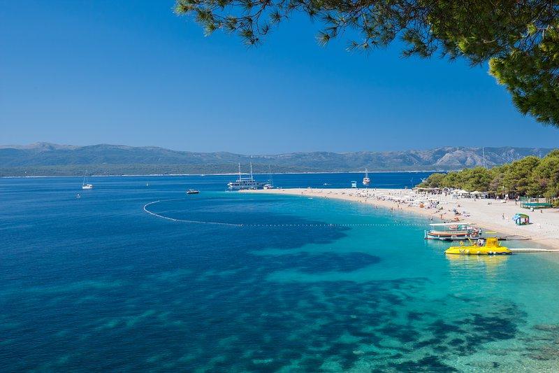 famous Zlatni Rat beach