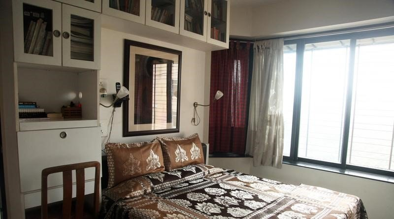 Luminoso y amplio dormitorio.