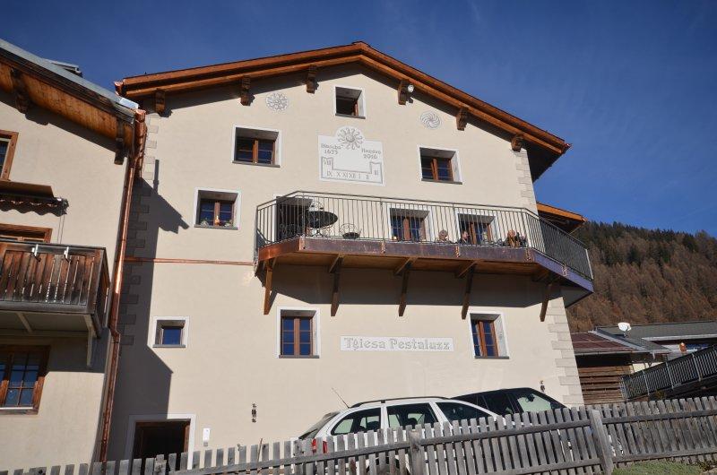 Tgiesa Pestaluzz, holiday rental in Wergenstein