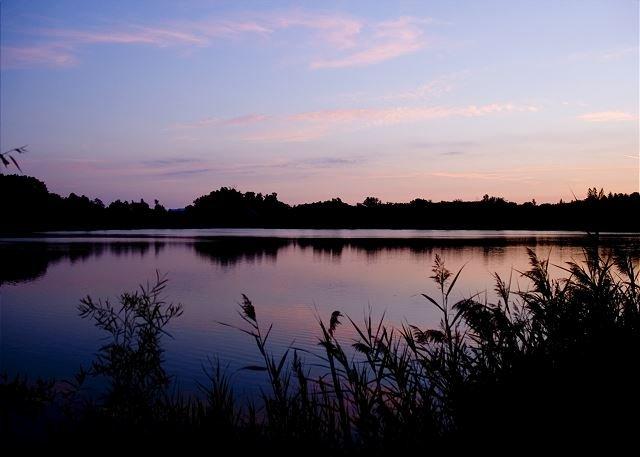 Onsite Lake Kai evening view