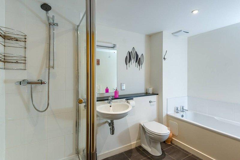 Salle de bain principale. Bain ou douche?