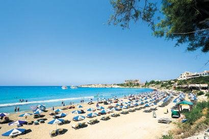 Coral Bay beach is a 5 minute walk from the villa