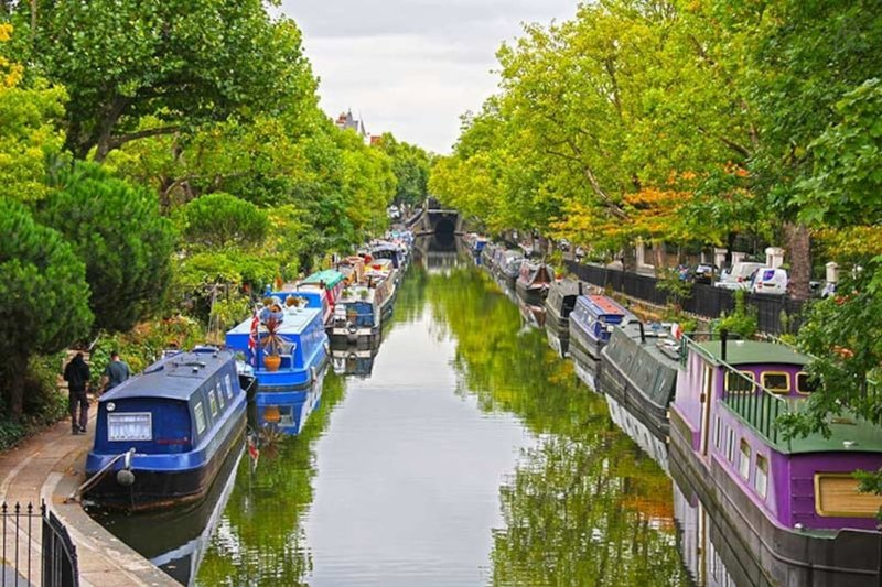 Regents Canal a portata di mano offre belle passeggiate