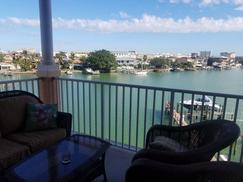 vista sul balcone