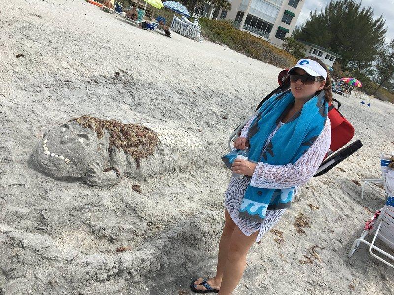 Sand 'monster'
