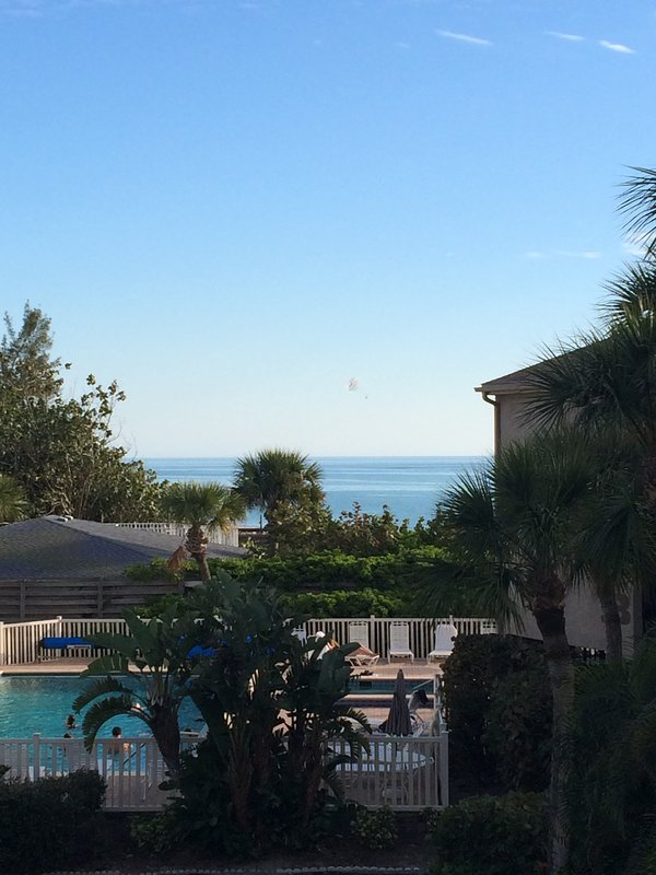 View of the Gulf of Mexico from the condo