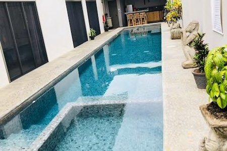 Area común: piscina