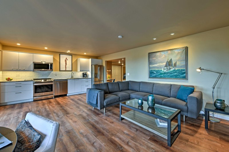 Provate il Pacific Northwest in questo appartamento in affitto a Anacortes.