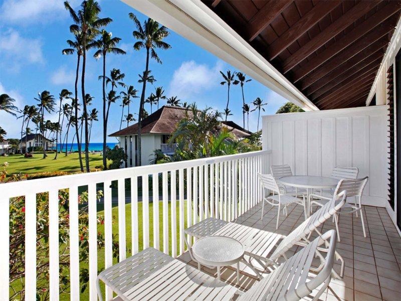 Epic Poipu Views From Lanai+Full Kitchen, WiFi, Flat Screen, Ceiling, vacation rental in Kalaheo