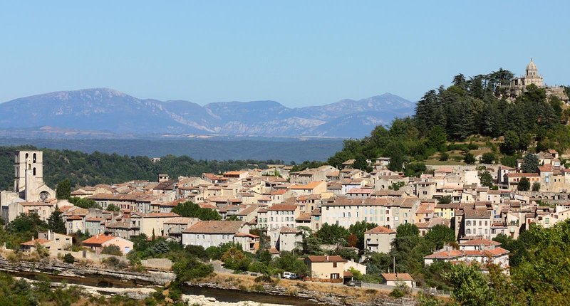 panoramic view of Forcalquier