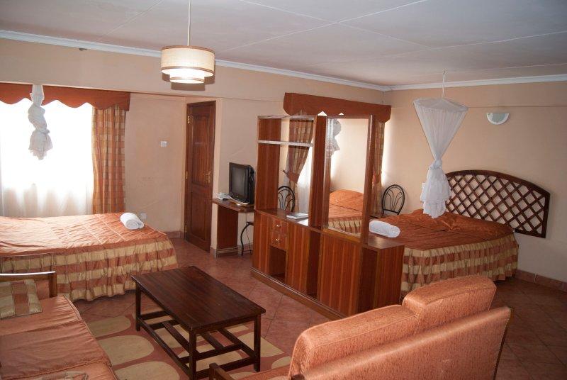 Aprtments near Serena Hotel, holiday rental in Mount Kenya National Park