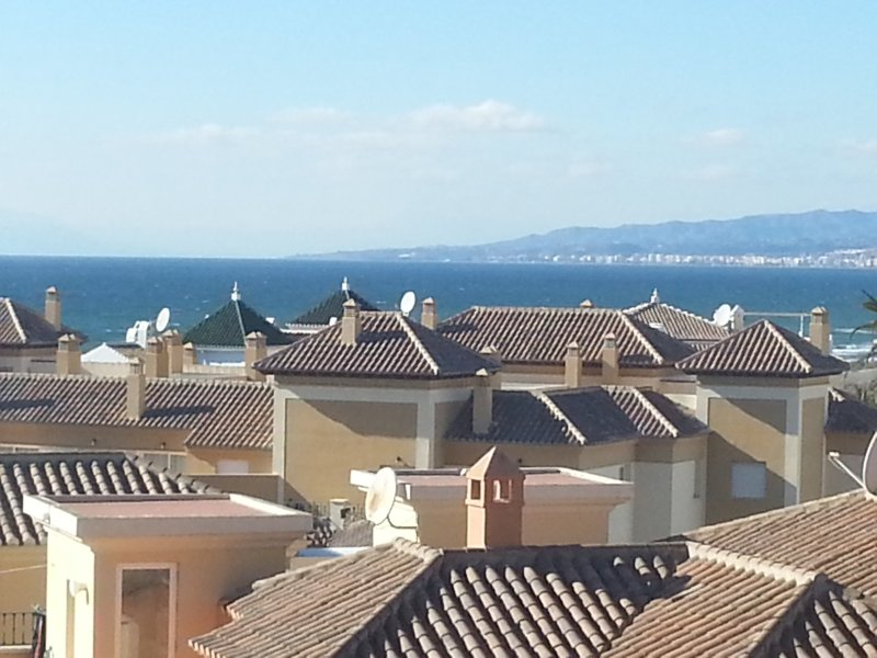 Nice studio with panoramic views in Torrox Costa