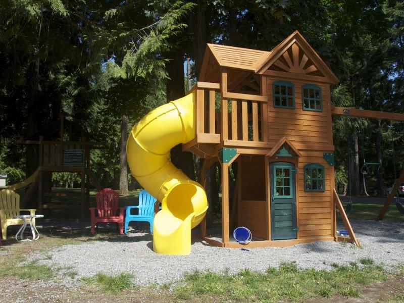 Zona de juegos para niños.