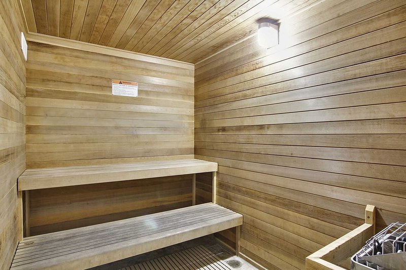 Sauna to relax in