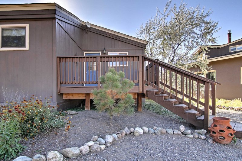 Discover the serene natural beauty of Colorado when you stay at this 2-bedroom, 1-bathroom Crestone vacation rental cottage!