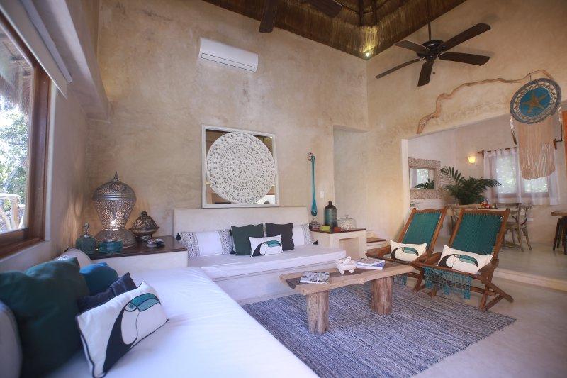 Cachito de Cielo Luxury Jungle Lodge - Corazón Infinito, alquiler de vacaciones en Macario Gómez