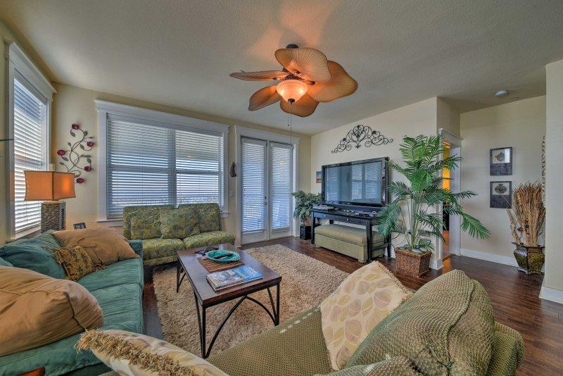 Your Galveston getaway begins at this 3-bed, 3-bath vacation rental condo!