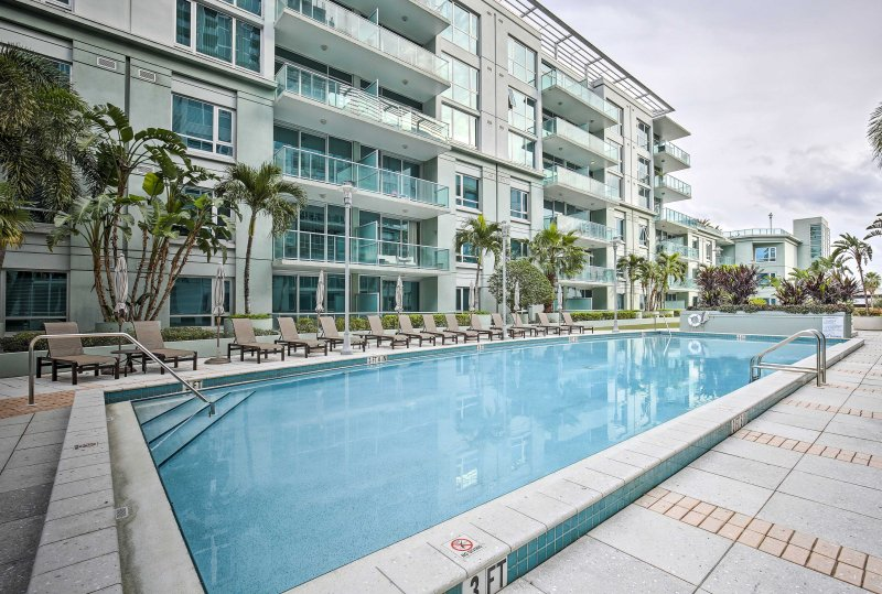 Stay in the heart of Tampa at this luxury 1-bed, 1-bath vacation rental condo!