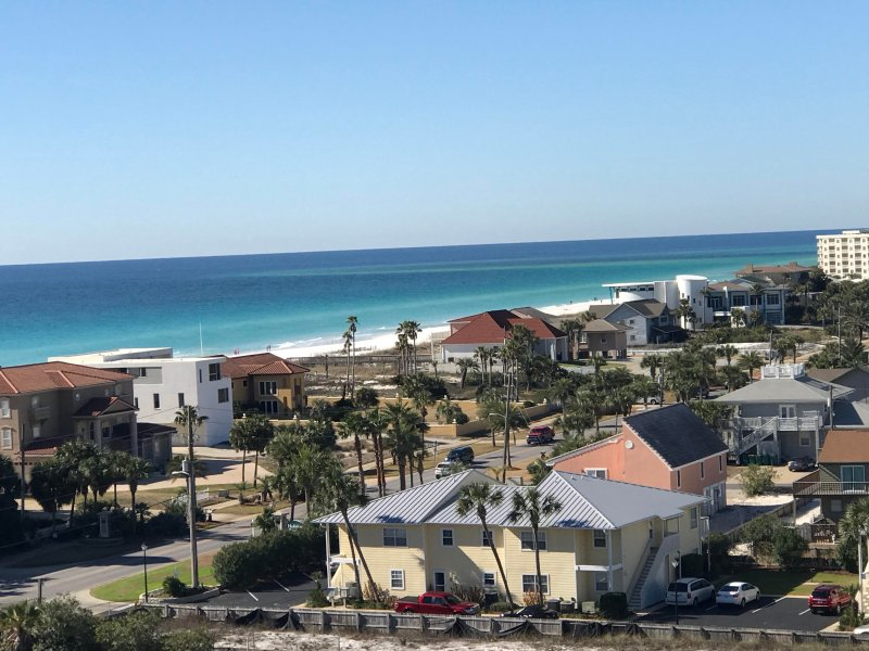 Begin sun-kissed adventures at this 2-bedroom, 2-bathroom Destin vacation rental condo.