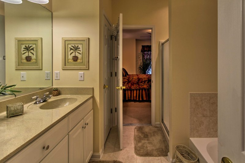 Prendi la tua giornata è iniziata nella stanza da bagno en-suite!