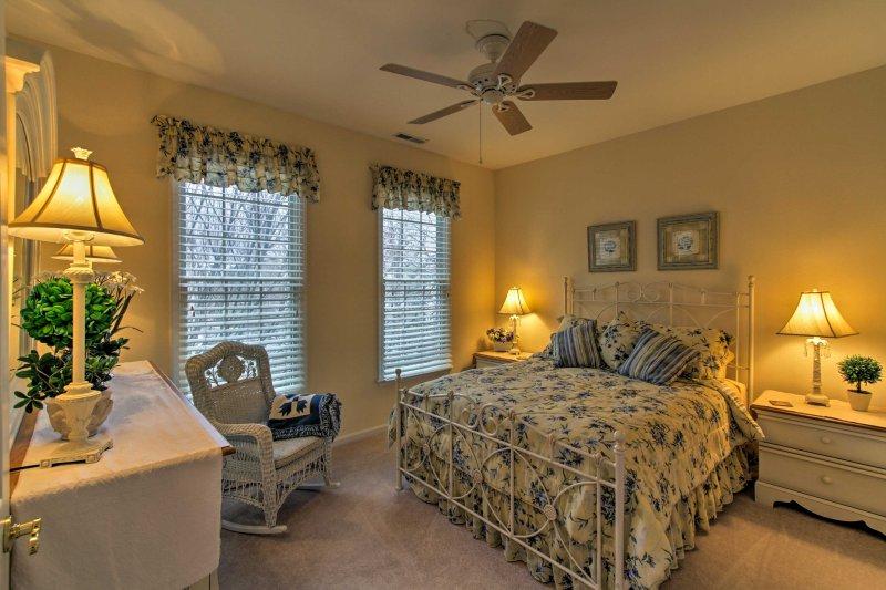 Troverete un altro letto matrimoniale nella seconda camera da letto.