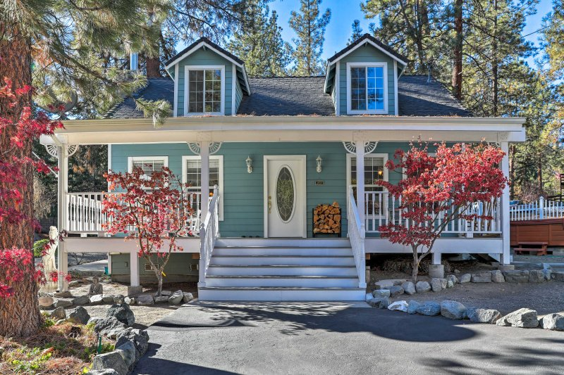 Escape to the California mountains at this  Wrightwood vacation rental home!
