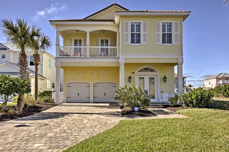 Visitez le Sunshine State dans le luxe en réservant cette Palm Coast location de vacances!