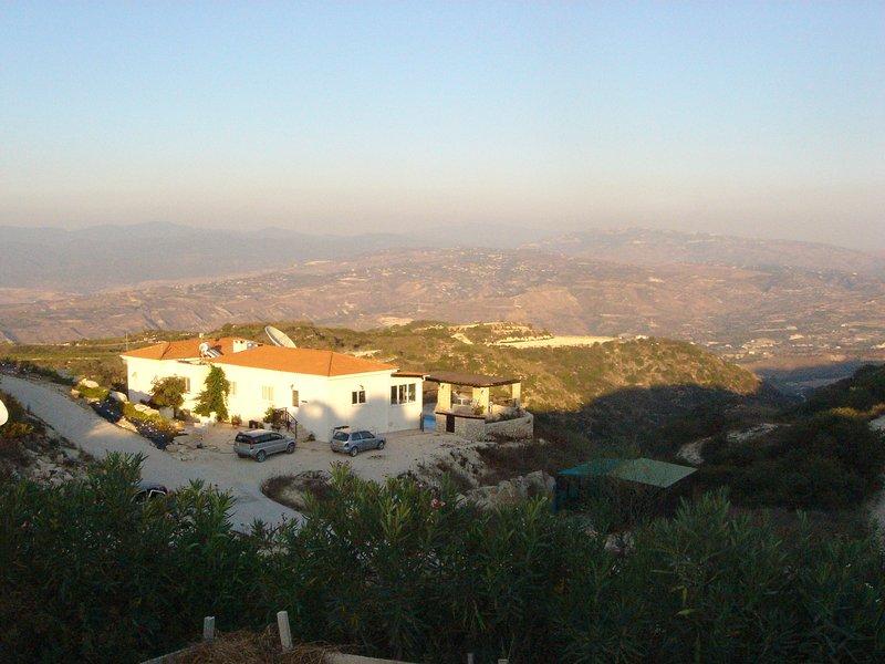 Vista panorâmica da Villa