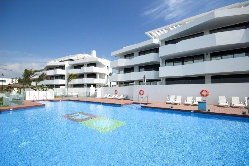 4 bed apartment, Dream Gardens, La Cala de Mijas, alquiler de vacaciones en Mijas