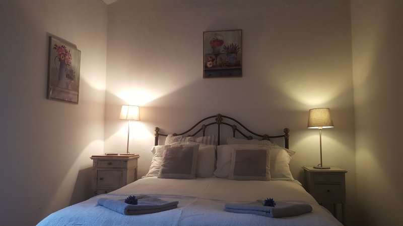 Ceps Stone Cottage with terrace, holiday rental in Olargues