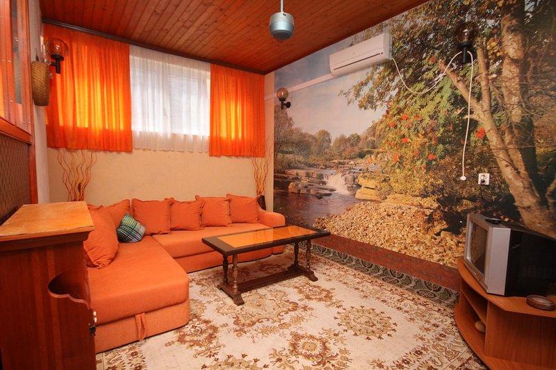 Sala de estar, superficie: 19 m²