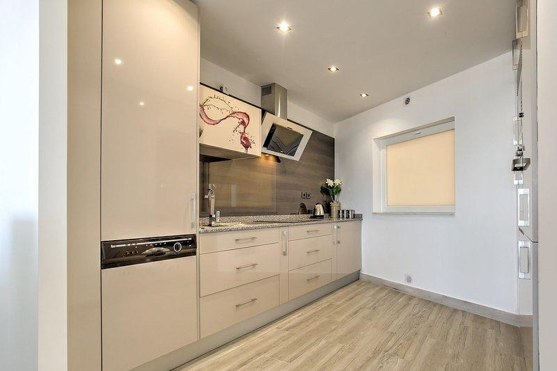 cozinha moderna e equipada