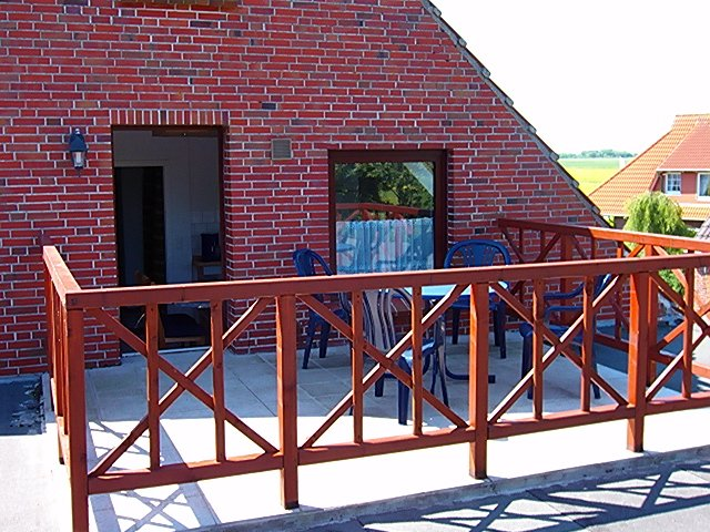 Gästehaus Zur alten Post 'Wohnung Nord', holiday rental in Dornumersiel