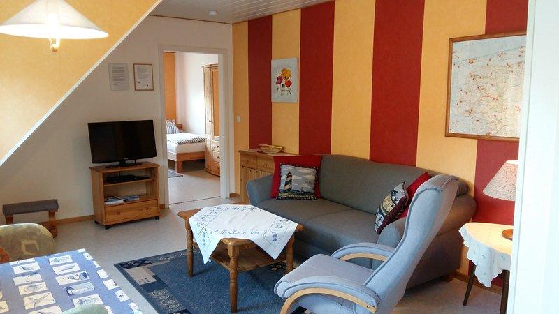 Gästehaus Zur alten Post 'Wohnung Ost', holiday rental in Dornumersiel