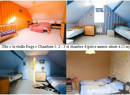 """Caravan """"old forge"""" room 1 - 2 - 3 and 4 (annex piece located 15 m)"""