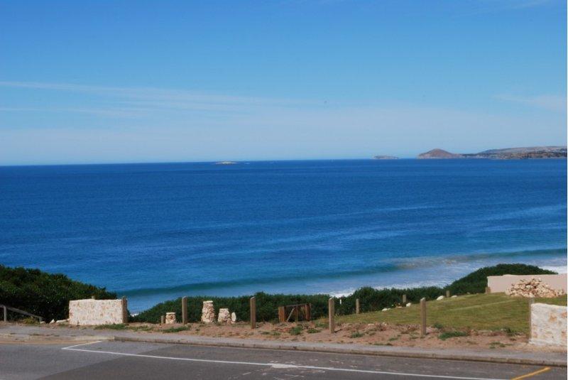 Vista desde Alquiler vacaciones Port Elliot Neptuno frente a la playa casa de playa