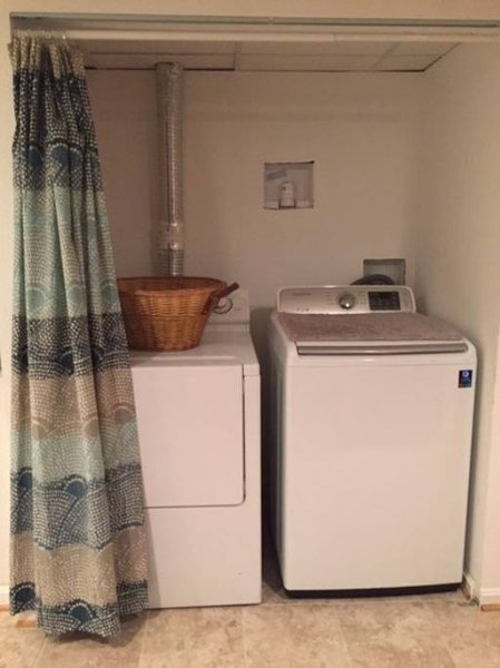 Lavatore e asciugatore.