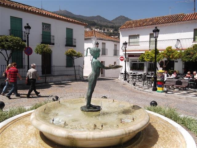 Die berühmte Statue von La Niña
