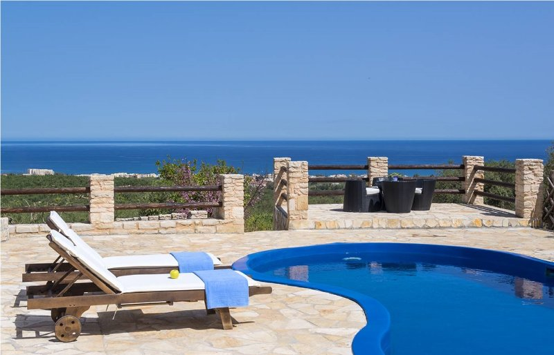Grecian Villas - Dias Seaview Villa With Private Pool, holiday rental in Maleme
