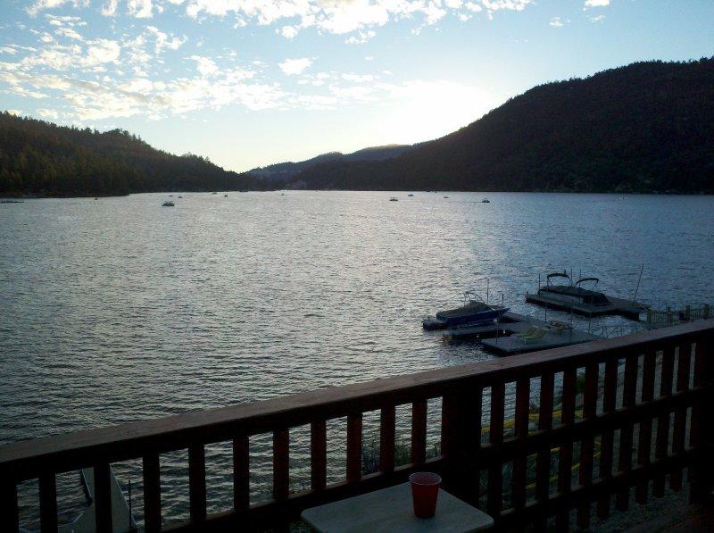Evening Deck View