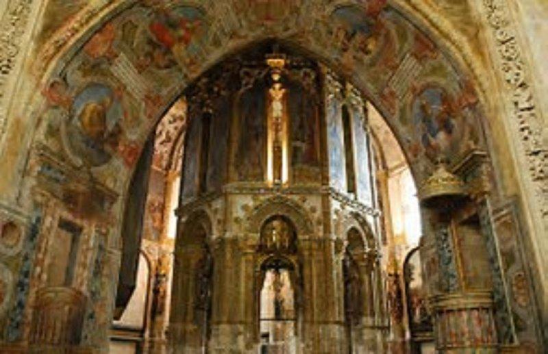 La chapelle, le couvent du Christ