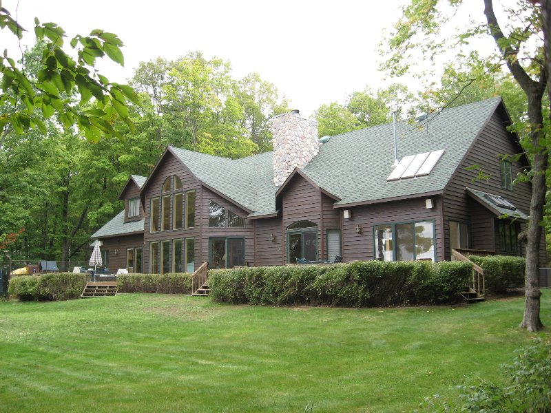 Find optimal holiday relaxation at this waterfront vacation rental nestled in the northwoods!
