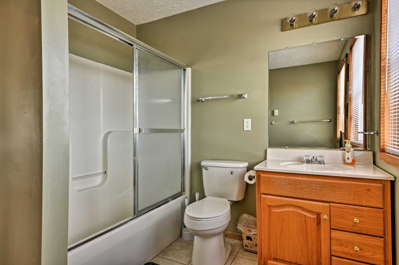 A convenient full bathroom is also located on the third floor of the home!