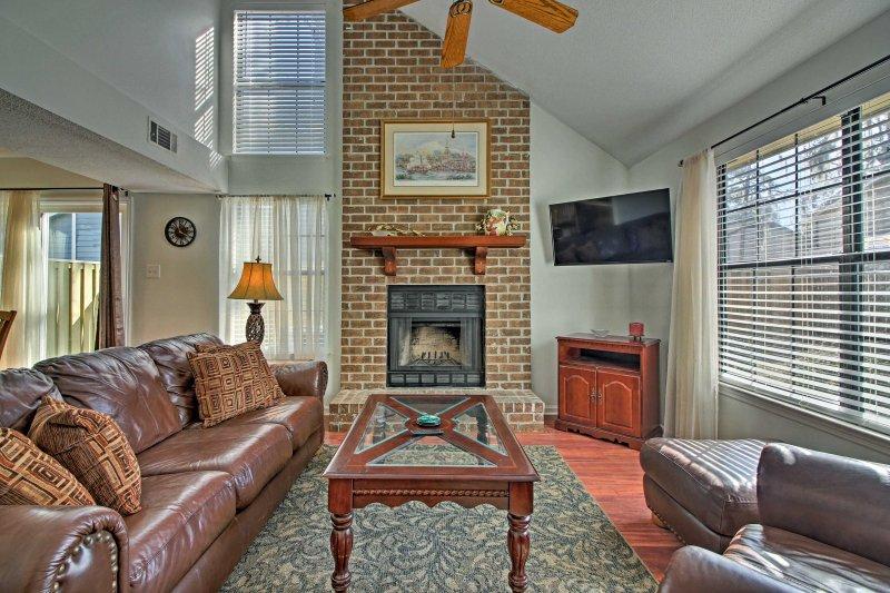 A southern getaway awaits you at this charming Savannah vacation rental townhome!