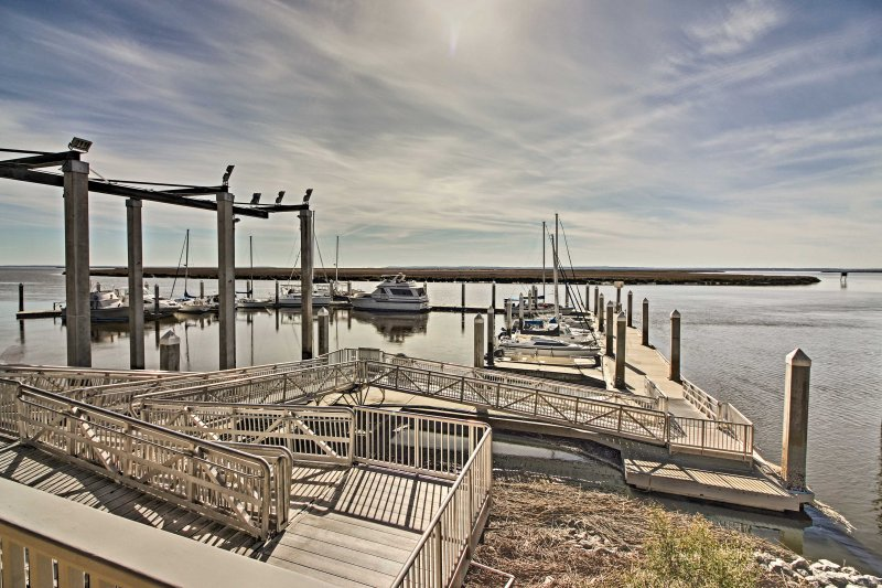 Boat or fish at the Coffee Bluff Marina located only 3 miles from the property.
