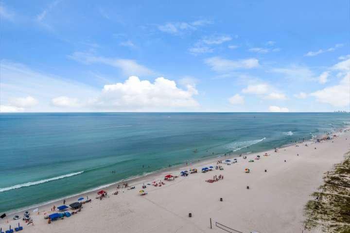 Prachtig uitzicht op de Golf van Mexico