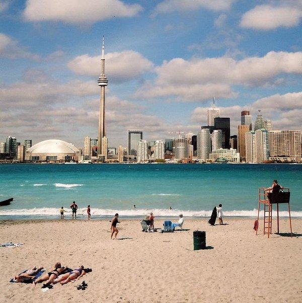 Vista del horizonte de Toronto.